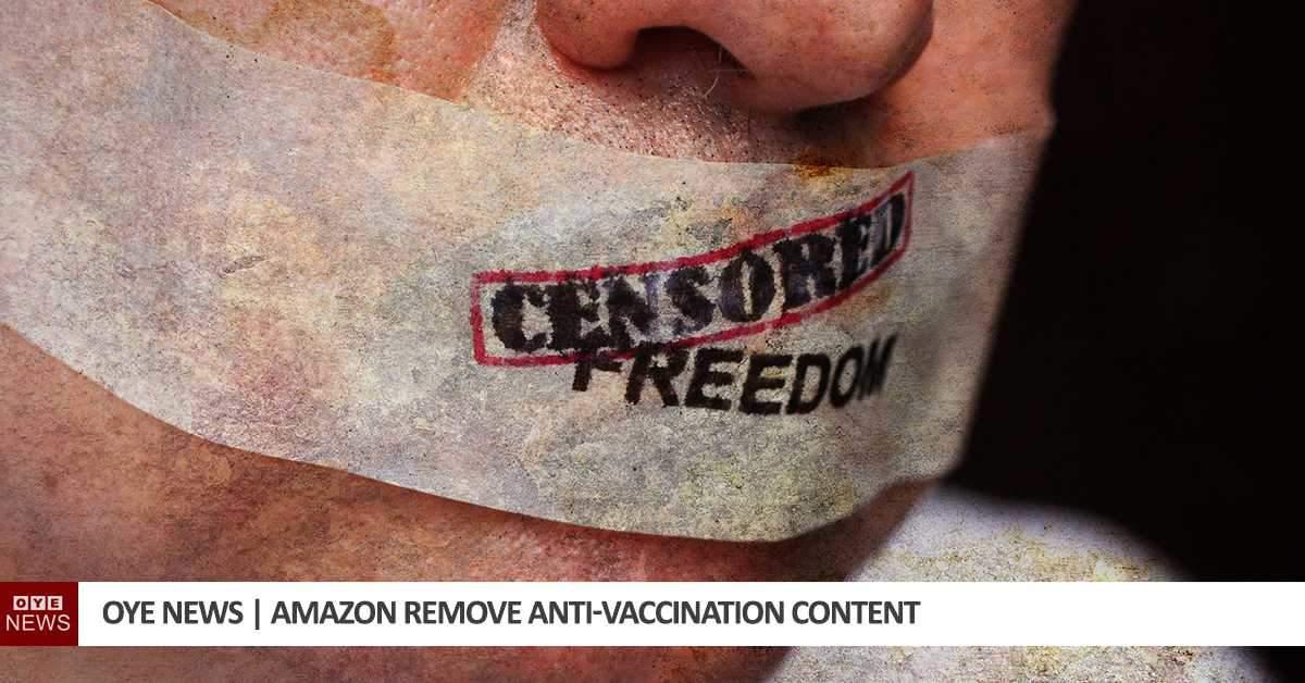 Amazon remove anti-vaccine content