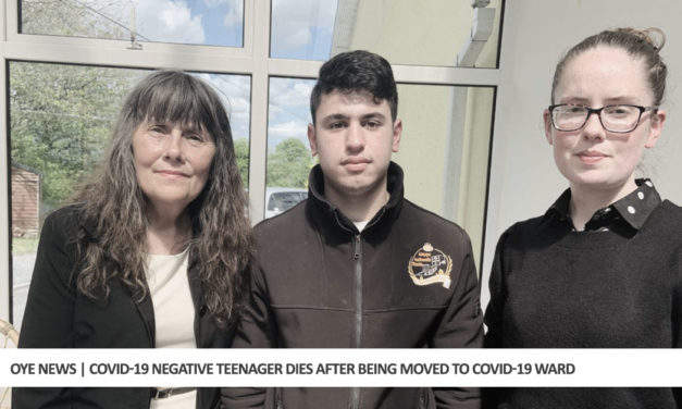 COVID-19 Negative Teenager Dies After Being Moved to COVID-19 Ward