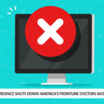 Squarespace Shuts Down America's Frontline Doctors Website