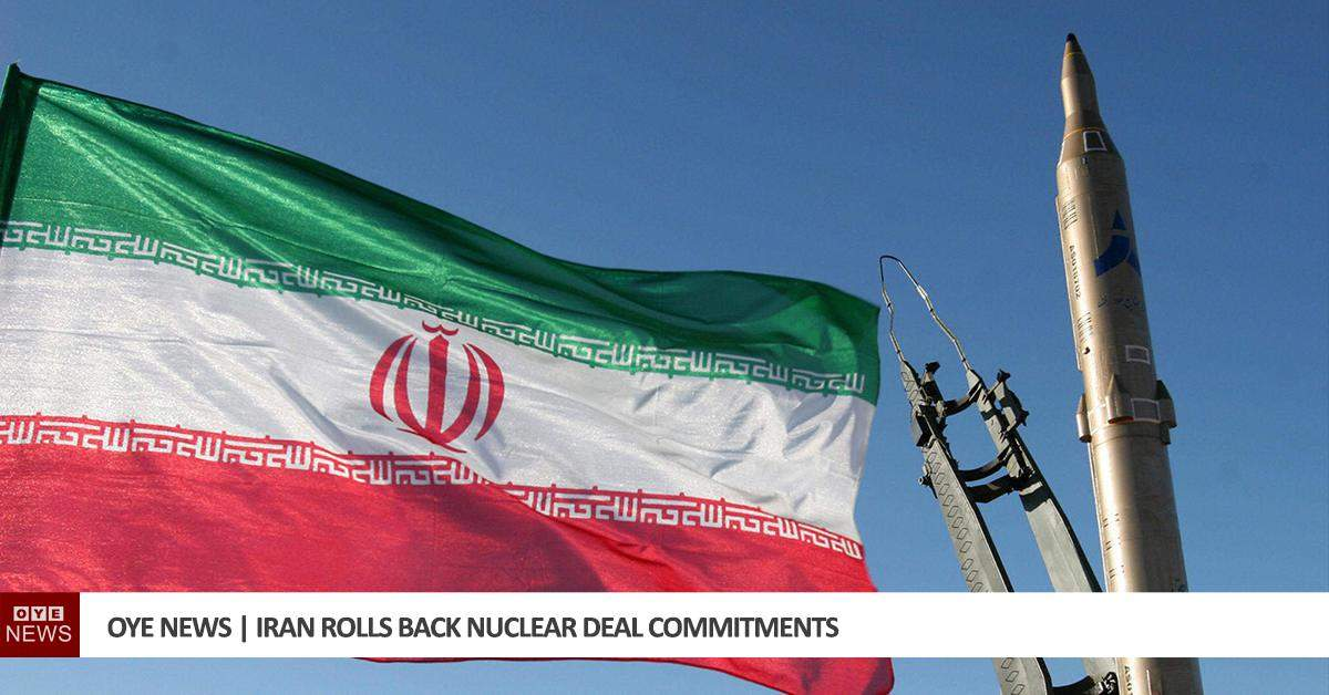 Iran Rolls Back Nuclear Deal Commitments