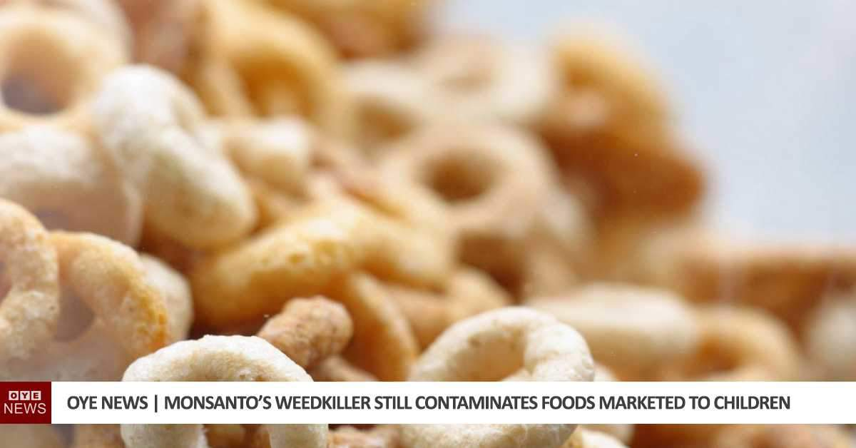 Monsanto's Weedkiller Still Contaminates Foods Marketed to Children