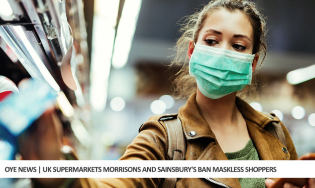 UK Supermarkets Morrisons and Sainsbury's Ban Maskless Shoppers